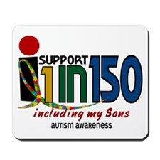 I Support 1 In 150 & My Sons Mousepad