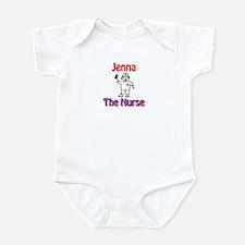 Jenna - The Nurse Infant Bodysuit