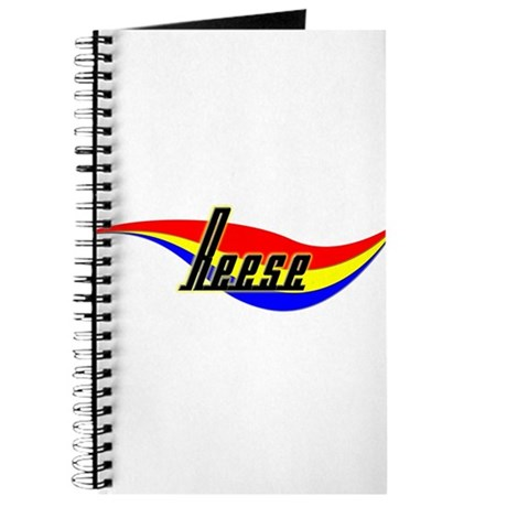 Reese's Power Swirl Name Journal