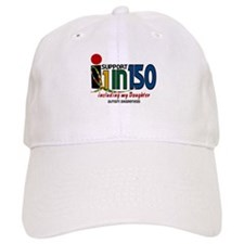 I Support 1 In 150 & My Daughter Baseball Cap