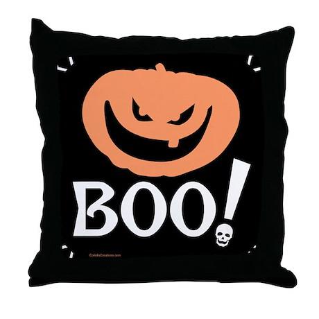 BOO Jacko - Throw Pillow