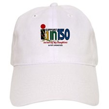 I Support 1 In 150 & My Daughters Baseball Cap