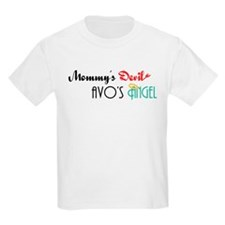 Mommy's Devil, Avo's Angel T-Shirt