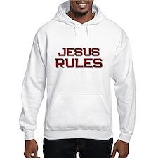 jesus rules Hoodie
