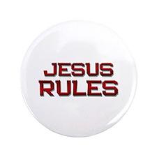 "jesus rules 3.5"" Button"