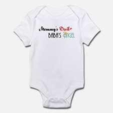 Mommy's Devil, Baba's Angel Infant Bodysuit
