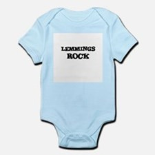 LEMMINGS ROCK Infant Creeper