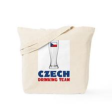 Czech Drinking Team Tote Bag