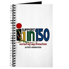 I Support 1 In 150 & My Grandson Journal