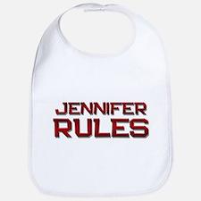 jennifer rules Bib