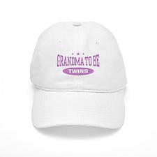 Grandma To Be Twins Baseball Cap