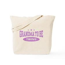 Grandma To Be Twins Tote Bag