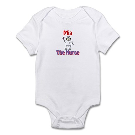 Mia - The Nurse Infant Bodysuit
