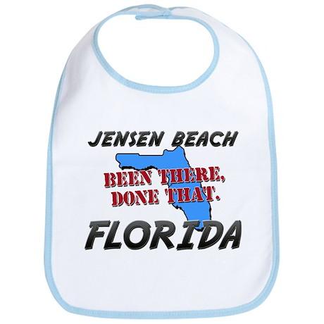 jensen beach florida - been there, done that Bib
