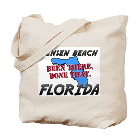 jensen beach florida - been there, done that Tote