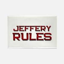 jeffery rules Rectangle Magnet