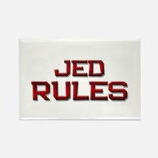 jed rules Rectangle Magnet