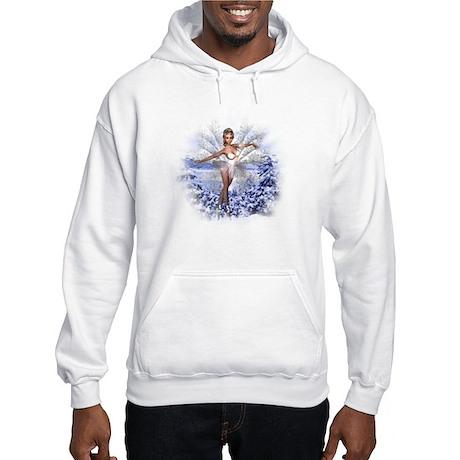 Snowflake Fairy Hooded Sweatshirt