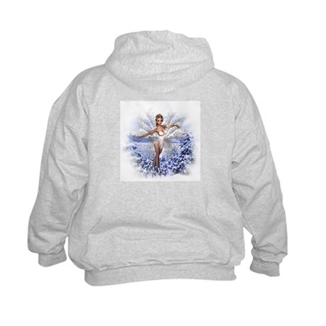 Snowflake Fairy Kids Hoodie