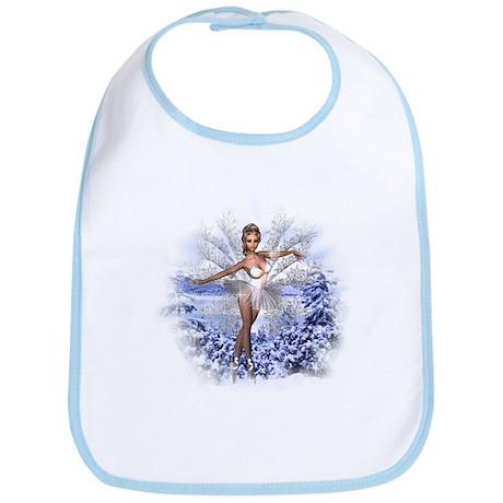 Snowflake Fairy Bib