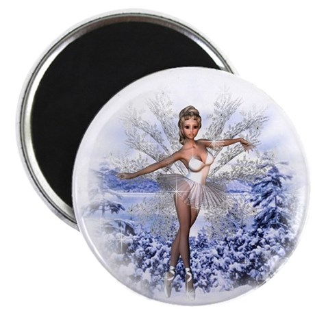 Snowflake Fairy Magnet