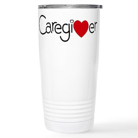 Caregiver Stainless Steel Travel Mug