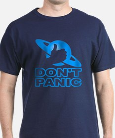 Don't Panic Black T-Shirt