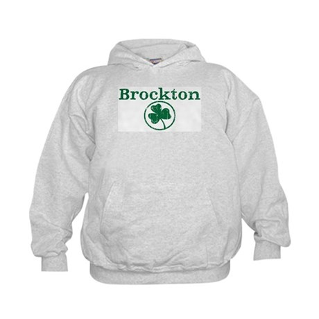 Brockton shamrock Kids Hoodie