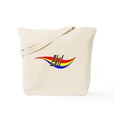 Phil's Power Swirl Name Tote Bag