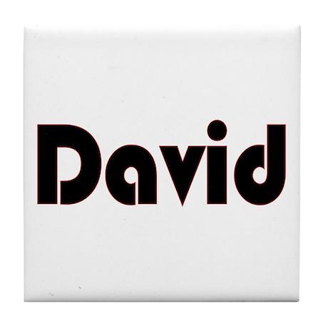 David Tile Coaster