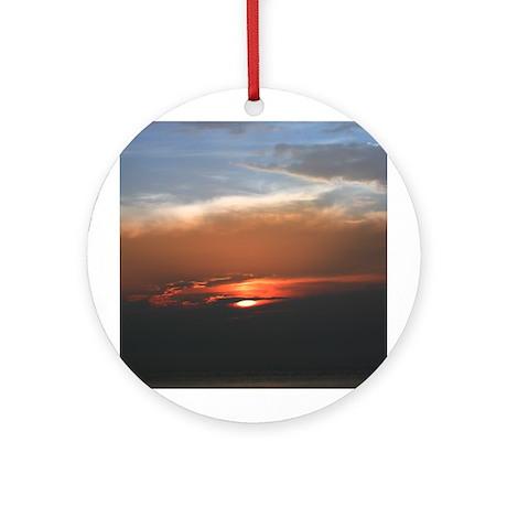 """Cozumel """"Eye of God"""" Ornament (Round)"""