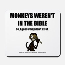 No Monkeys? Mousepad
