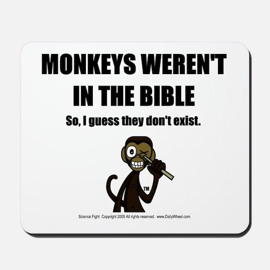 No Monkeys? Mousepad