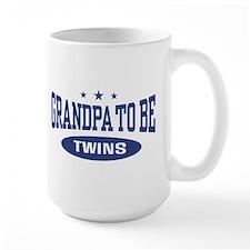 Grandpa To Be Twins Mug