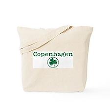 Copenhagen shamrock Tote Bag