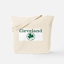Cleveland shamrock Tote Bag