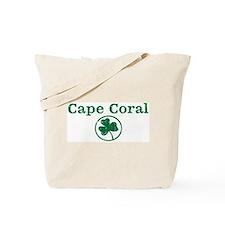 Cape Coral shamrock Tote Bag