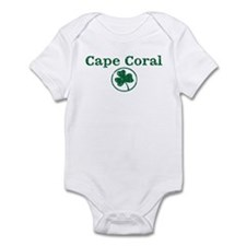 Cape Coral shamrock Infant Bodysuit