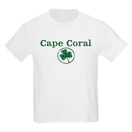 cape coral shamrock kids light t shirt cape coral shamrock