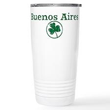 Buenos Aires shamrock Travel Coffee Mug