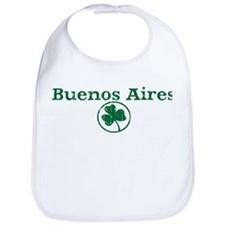 Buenos Aires shamrock Bib