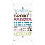 Broke in Broker Banner
