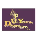 Up Yours Downturn Postcards (Package of 8)