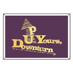 Up Yours Downturn Banner