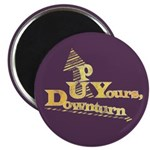 "Up Yours Downturn 2.25"" Magnet (100 pack)"