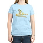 Up Yours Downturn Women's Light T-Shirt