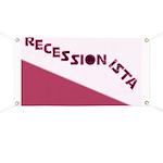 Recessionista Banner