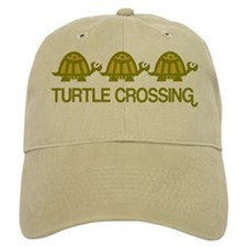 Turtle Crossing Baseball Cap