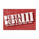 End Dubya Dubya III Mini Poster Print