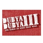 End Dubya Dubya III Postcards (Package of 8)